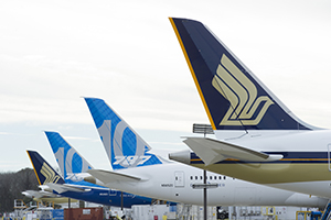 SIA 787 10 Tailfin line up CHS