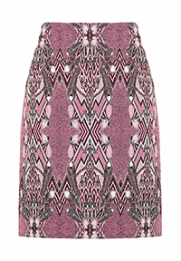 MONSOON Julie Jacquard Skirt